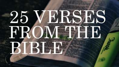 25 Famous Bible Verses | Best Bible Verses & Quotes