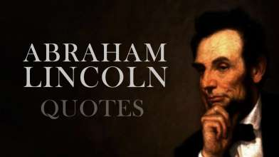 Quotes by Abraham Lincoln