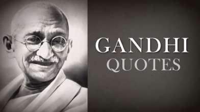 Mahatma Gandhi Quotes of Wisdom - Top 10