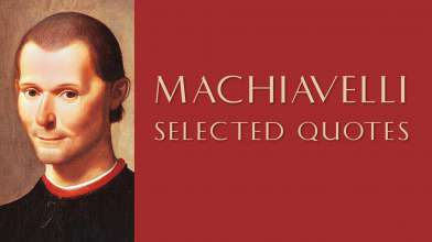 Profound Quotes by Machiavelli
