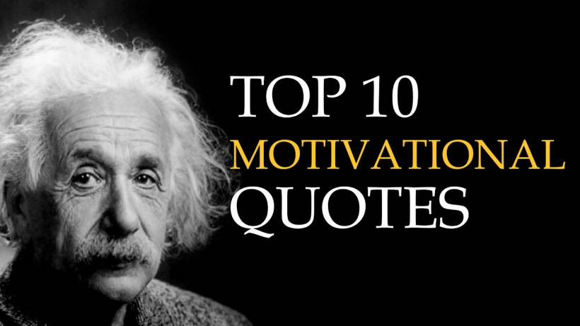 Motivational Quotes Top 10 Quotes On Motivation